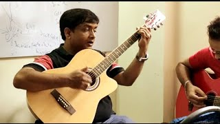 Ae mere humsafar Guitar lesson 1st and music part