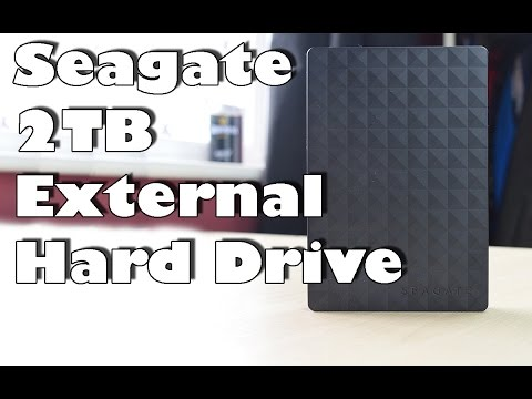 Unboxing & Review: Seagate 2TB Portable 2.5 inch External Hard Drive