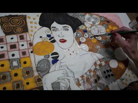 """Making Of """"Adele Bloch Bauer"""" Inspired Silk Blouse"""