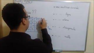 Algèbre S2 introduction sur les matrices ( Eco + Info + SMPC + SMAI ) darija Marocaine