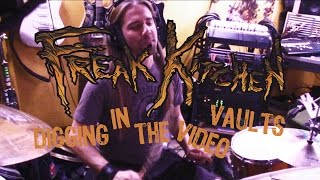 Freak Kitchen - Digging InThe Video Vaults - Recording Land of the Freaks drum tracks