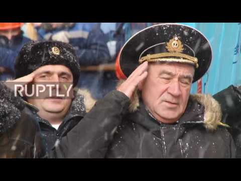 Russia: New nuclear submarine launched in Severodvinsk