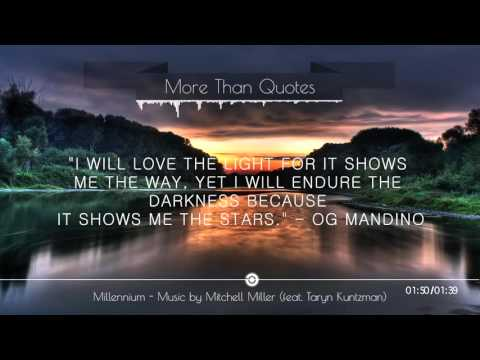 More Than Quotes - Inspiration | Music by Mitchell Miller