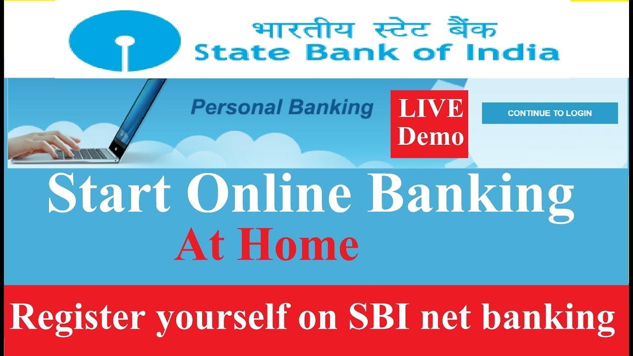 how to register new internet banking in sbi