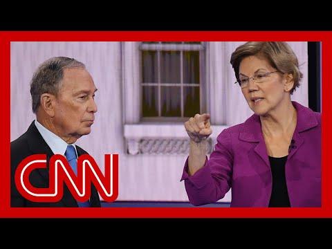 Elizabeth Warren hits