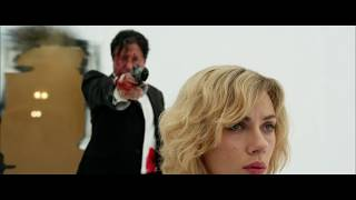 lucy movie brain activation 80% to 100% best scene in lucy 1080p HD || cool movies||