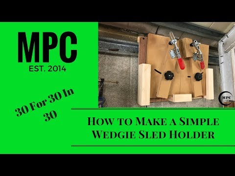 How to Make a Simple Wedgie Sled Holder