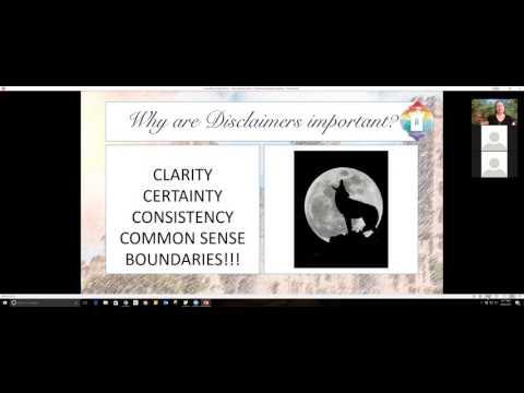 Serenity Series 7 :  Professional Responsibility Webinar