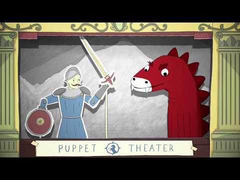 Unicorn Rescue Society: Basque Dragon Puppet Show