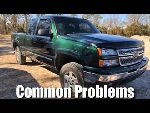Common Problems With Silverado Sierra Trucks 99 06