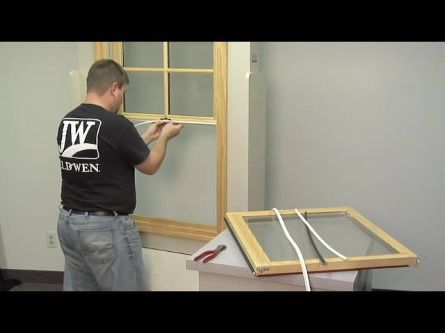 How To Replace the Weatherstrip on a Siteline EX Wood Double Hung Window