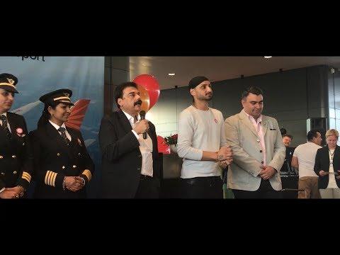 AIR INDIA ( Stockholm ,Arlanda Airport ) | Dreamliner B787-8 inauguration ,First Landing &Take-off