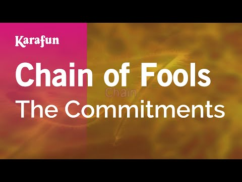 Karaoke Chain of Fools - The Commitments *