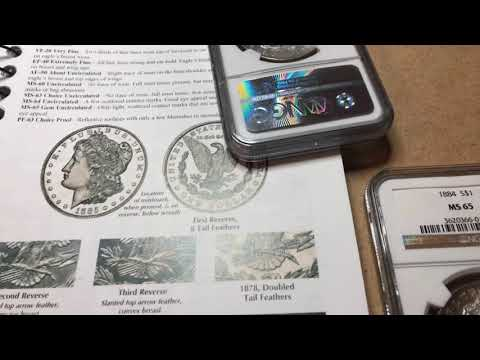 I Started A Morgan Silver Dollar Collection By NGC!
