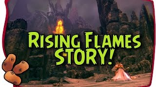 Guild Wars 2 - Story Summary of RISING FLAMES [Spoilers!]