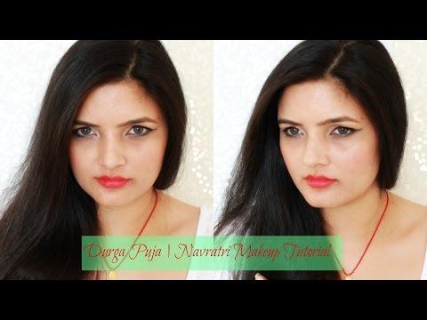 by ethnico-Durga Puja   Navratri Makeup Tutorial 2016   n Festive Makeup Look