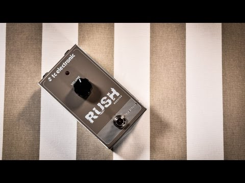 TC Electronic RUSH (Booster) - in depth review with different amps