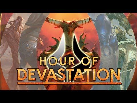 Drafting HOUR OF DEVASTATION - BEST Commons/Uncommons!
