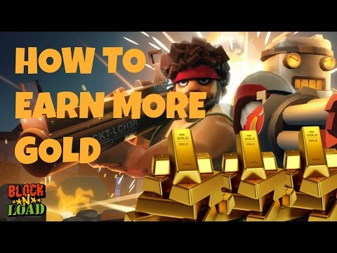 How to Earn More GOLD and PLATINUM in Block N Load