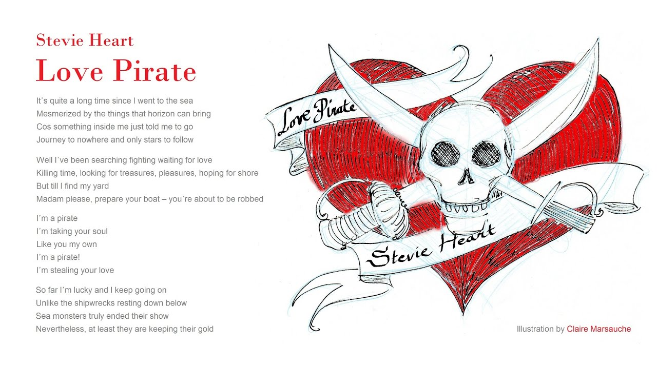 love pirate by stevie heart youtube