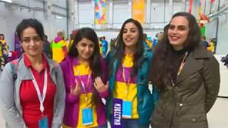 На Всемирный фестиваль молодежи в Сочи приехали и студентки из Сирии