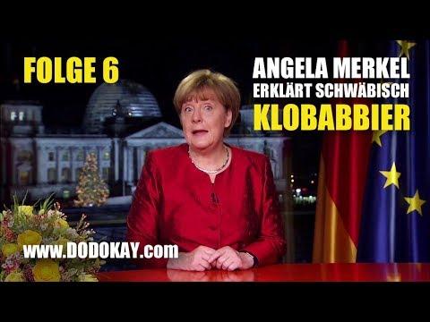 Angela Merkel Neujahrsansprache Schwäbisch - Klopapier