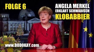 dodokay - Angela Merkel - Klopapier - Neujahrsansprache Nr. 6 schwäbisch
