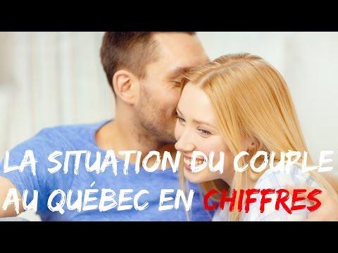 la situation du couple au Québec en chiffres