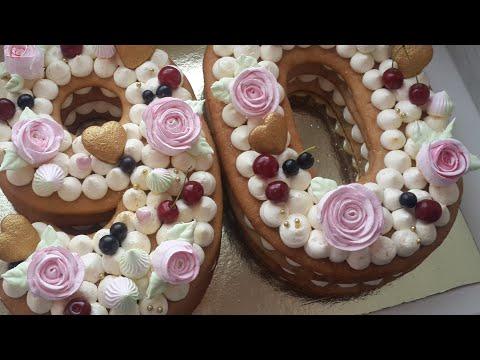 Розы из безе на итальянской меренге   Учимся делать розочки из крема