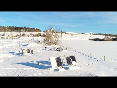 Solar Energy Research in Alaska