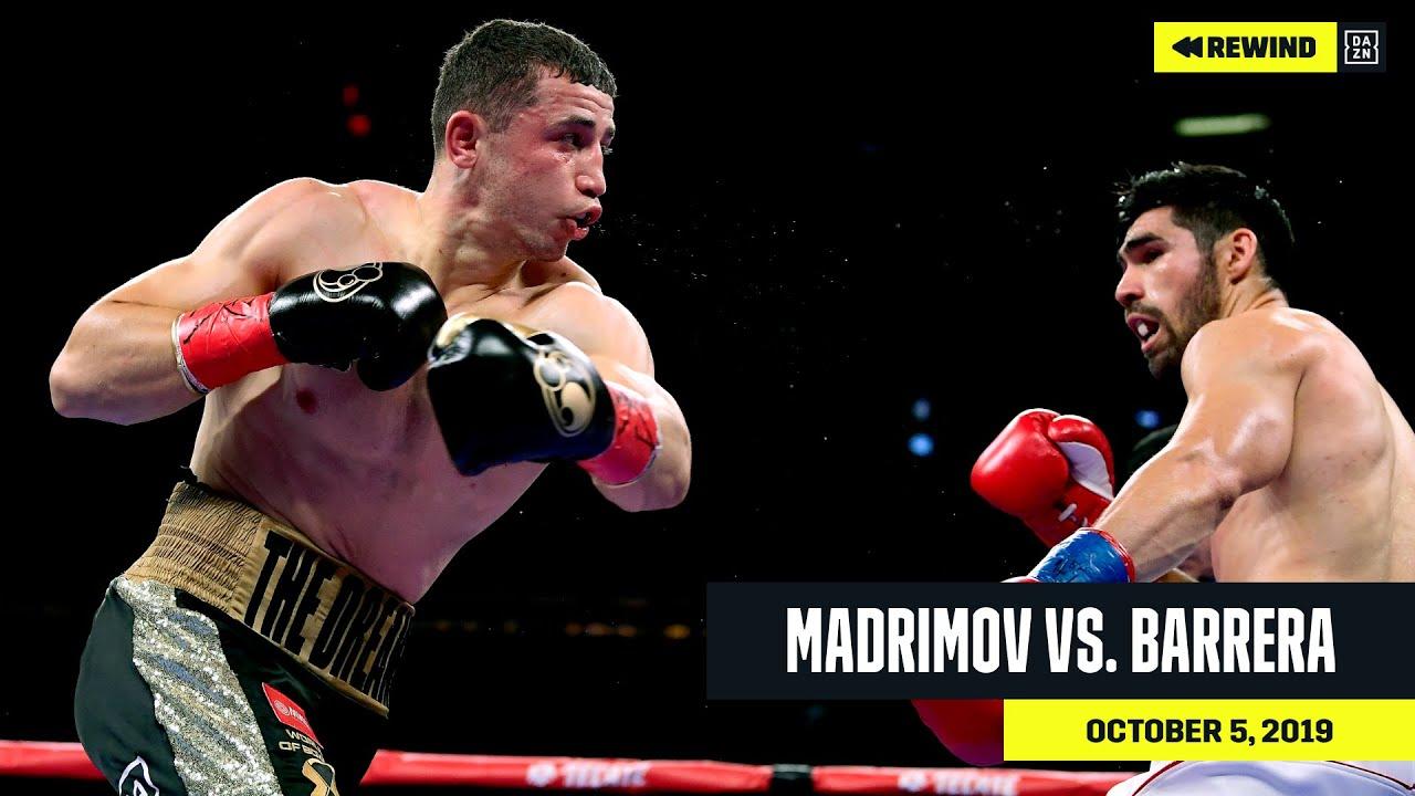 FULL FIGHT   Israil Madrimov vs. Alejandro Barrera (DAZN REWIND)