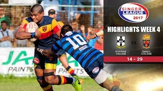 Highlights - S.Thomas' College vs Trinity College - Schools Rugby 2017