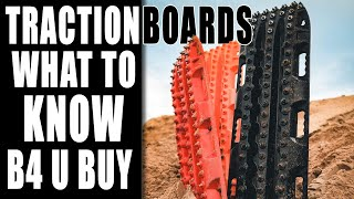 Traction Boards! WATCH BEFORE YOU BUY  USActionTrax vs MaxTrax and Maxsa Escaper Buddy