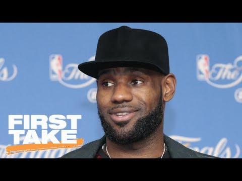 More To LeBron James-Derrick Rose Workout In Vegas? | First Take | ESPN