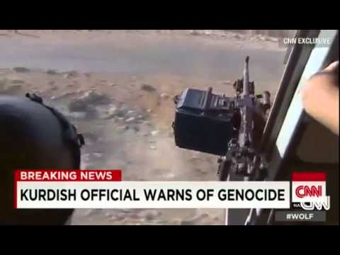 Dramatic Rescue of Iraqis Yezidis from Mount Sinjar - Rescue mission Iraq From ISIS 8 11 2014