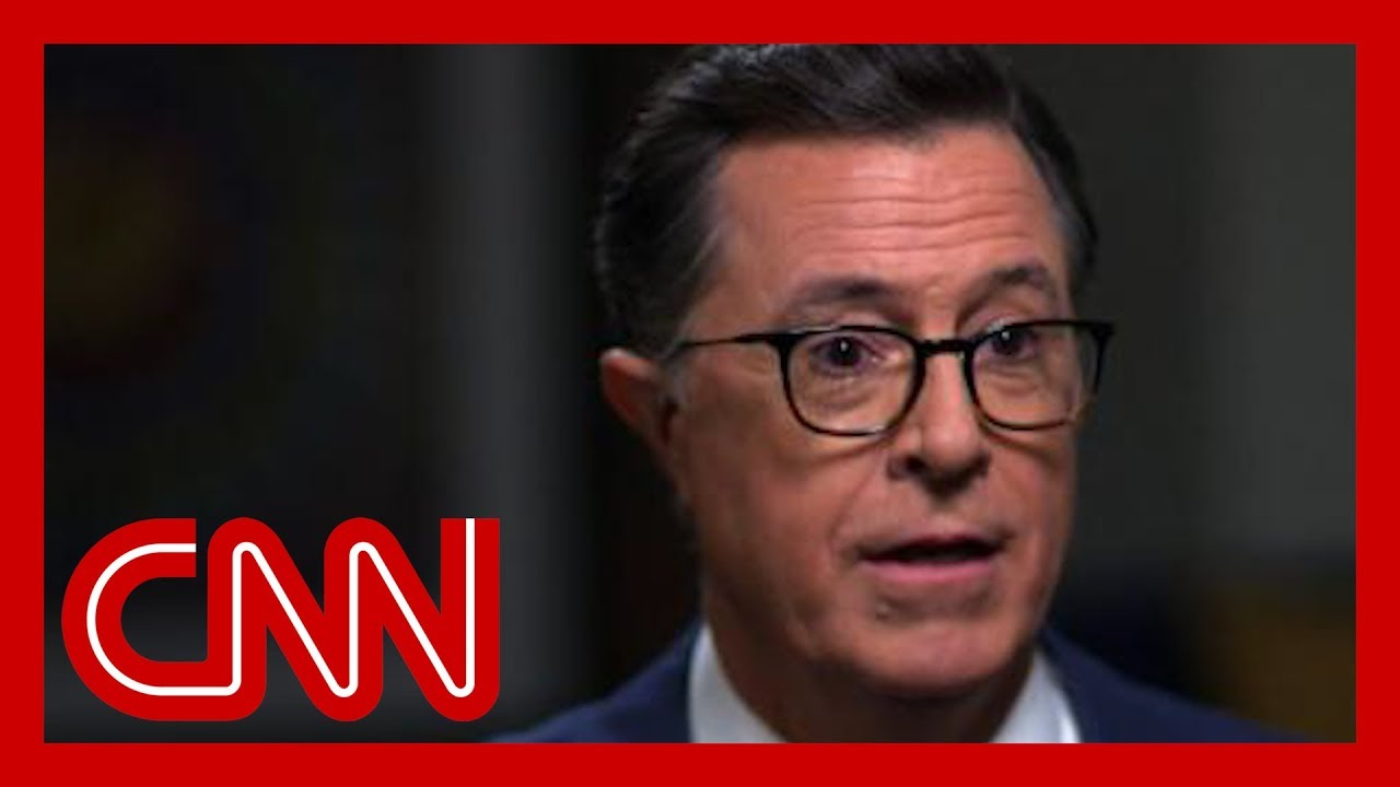CNN:Stephen Colbert: This is the odd thing about Trump ...