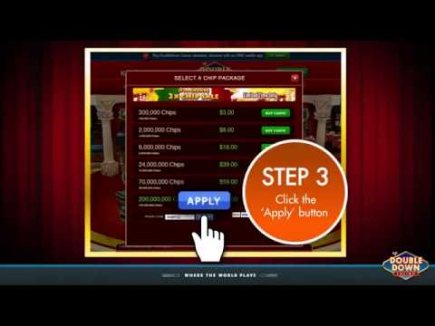 DoubleDown Casino Chips And Promo Codes 2015