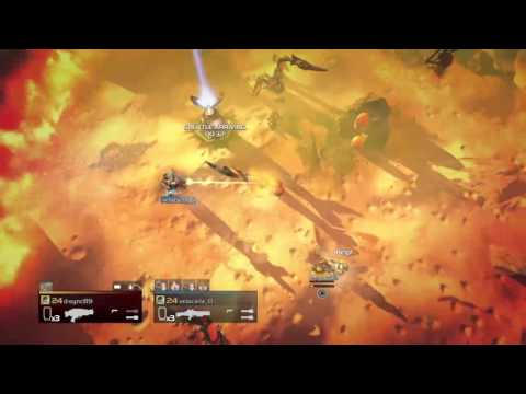 d-sync89's Helldivers Double XP Farming Live PS4 Broadcast Taiwan