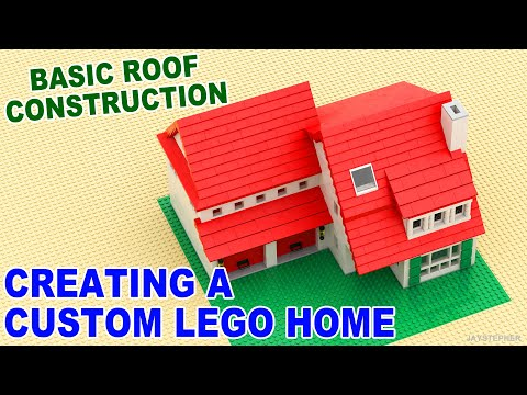 Tutorial Creating A Custom Lego Home Basic Roof