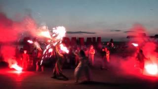 Огненные люди - Искреннее шоу (Пермь) (Часть 1)