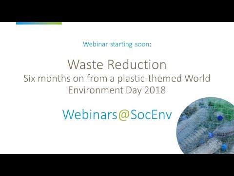 Waste Reduction // Environmental Expert Webinar Series // Part 1 // Environment Agency & Fyrefly