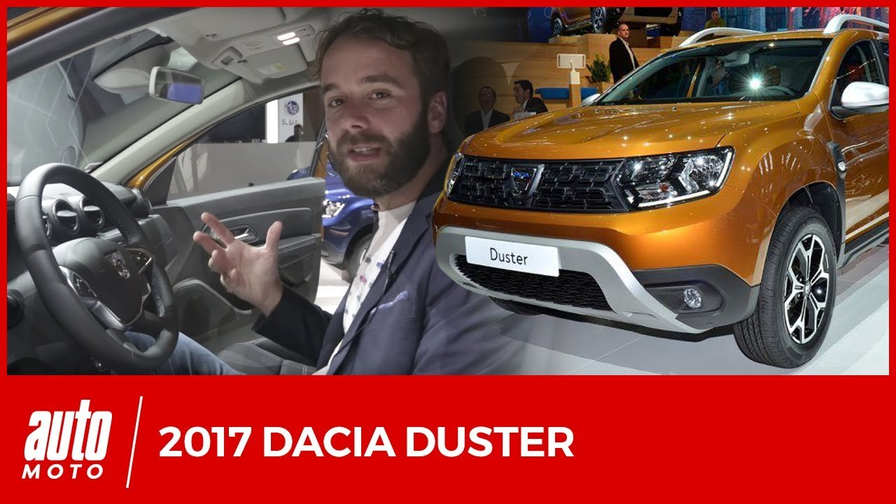 nouveau dacia duster salon francfort 2017 meilleur et pas beaucoup plus cher youtube. Black Bedroom Furniture Sets. Home Design Ideas