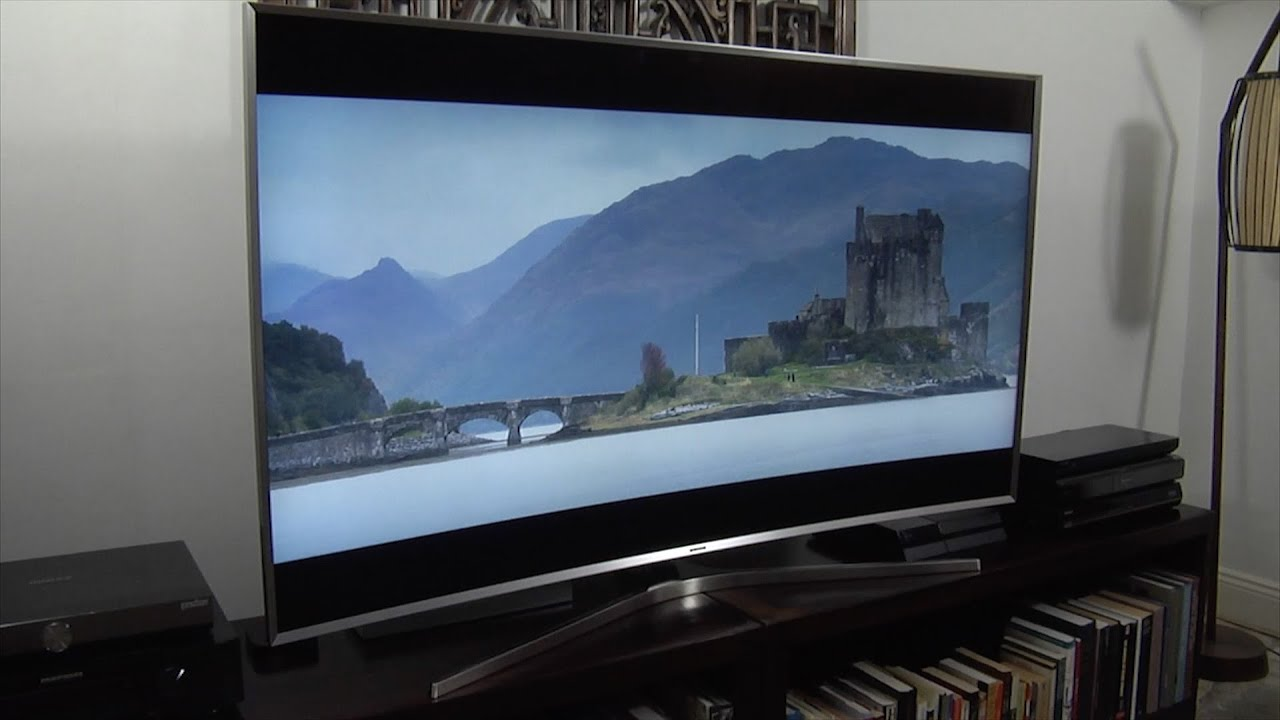 Samsung Ue65js9500 Js9500 Suhd 4k 2015 Tv Demo Review