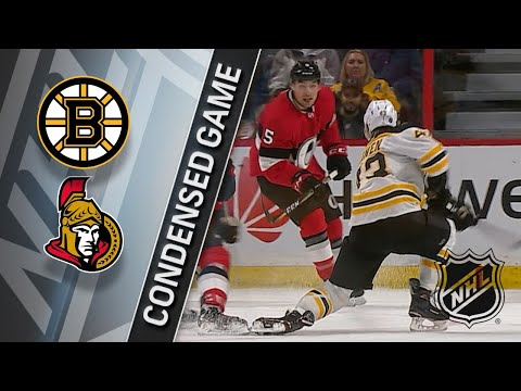 01/25/18 Condensed Game: Bruins @ Senators