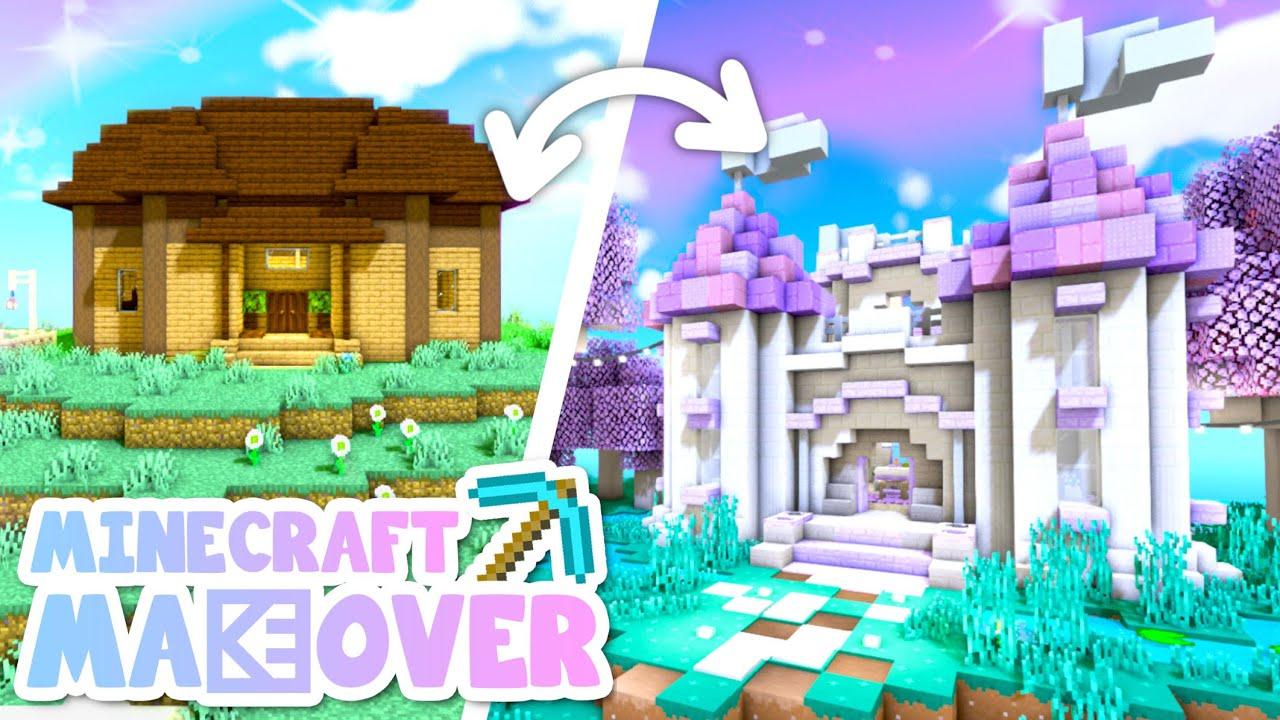 💙Castle Transformation! Minecraft Makeover Ep.10