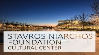 A Day to Night Timelapse at the Stavros Niarchos Foundation Cultural Center