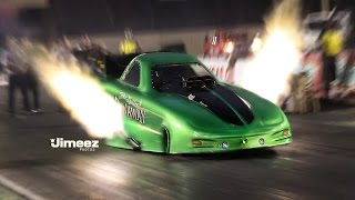 "FLAMING NITRO! 5 SEC ""RUNAWAY""FIREBIRD! LAWSON FAMILY RACING!"