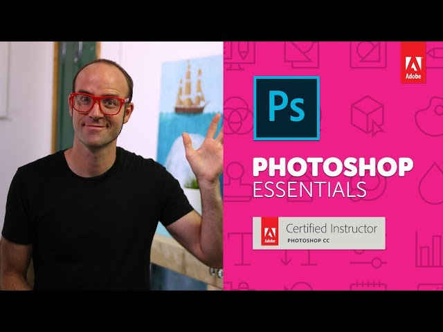 Introduction to Adobe Photoshop CC - Photoshop CC Essentials [01/86]