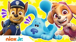 Top 5 Most PAWSOME Puppy Moments! 🐶 PAW Patrol + Blue's Clues & You! | Nick Jr.