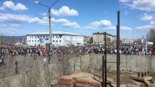 9 мая в городе Гусиноозерск